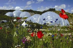Eden Project, near St Austell, Cornwall