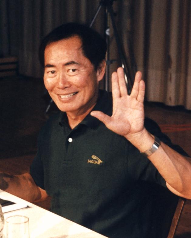 """George Takei"" by Diane Krauss (DianeAnna) - Own work. Licensed under CC BY-SA 3.0 via Wikimedia Commons - https://commons.wikimedia.org/wiki/File:George_Takei.jpg#/media/File:George_Takei.jpg"