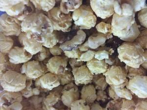 My iPad And A Bucket Of Popcorn