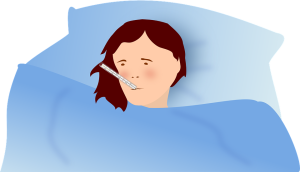 Caring for a sick spouse