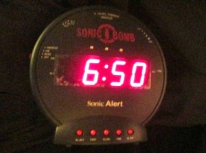 I Have the Best Alarm Clock