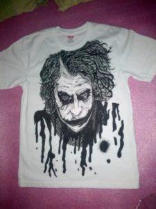 Hand Painted Shirt Design