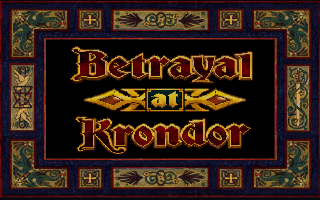 Betrayal at Krondor Logo